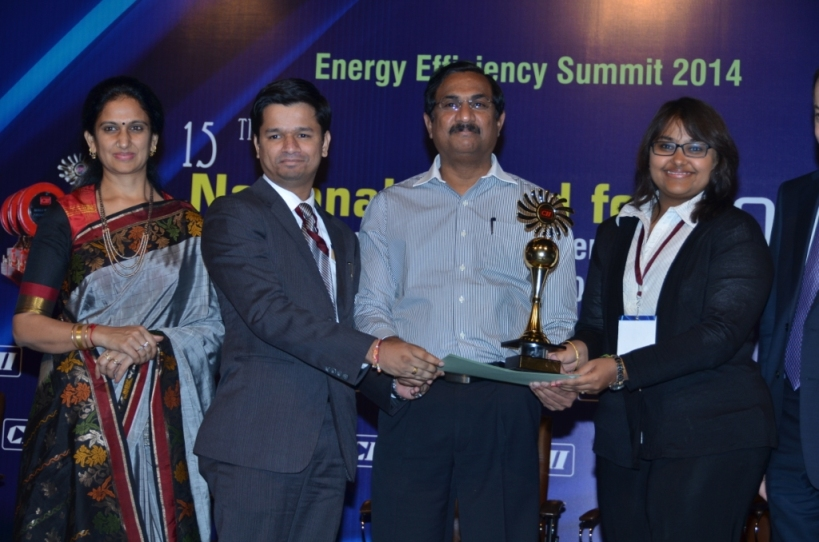 CII Most Energy Efficient Tech 2014
