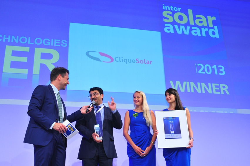 Intersolar AWARD Ceremony Europe
