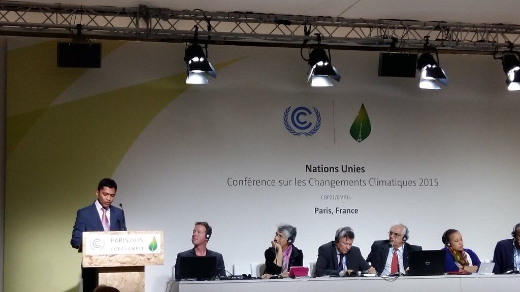Clique Solar invited to exhibit and present at COP21, Paris